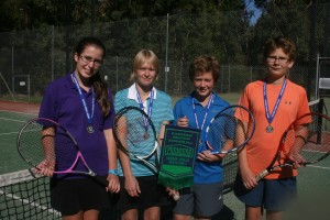 Junior Open Singles Doubles Section 7, Summer 2015